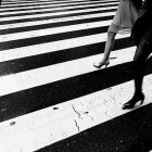 Verlicht zebrapad moet voetgangers beter zichtbaar maken