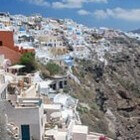 Santorini in beweging